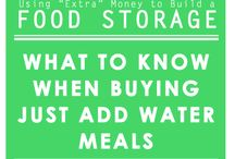 Tax Refund Week - How to Buy Food Storage With Your Refund / If you come across a good tax refund, or money as a gift, or save up a big chunk of change, these are ways you can make the most of it when purchasing your Food Storage / by Food Storage Made Easy (Jodi and Julie)