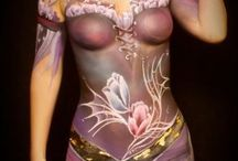 EroPlanet Body Paint Art