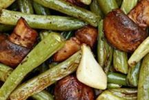 Balsamic green beans bake