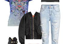 SANTORUS Fashion Looks / Ways to wear our statement pieces