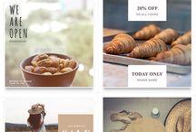 Designing instagram templates