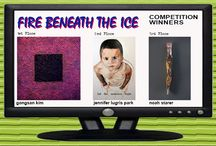 """Winners in ArtSceneToday's """"FIRE BENEATH THE ICE"""" Art Competition / FIRE BENEATH THE ICE...art that reveals hidden stories and the duality of all things. Exploring the best and most daring work, unique and innovative explorations of subject matter or technique.   ArtSceneToday juried competitions recognize excellence in the visual arts among emerging artists from around the world."""