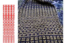 Patterns ( for mosaics, knitting, weaving ) / Ideas of useful patterns
