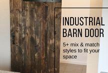 Industrial Barn Doors - customize your size