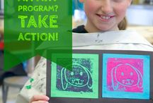 Bringing art to your school! / How to bring the Art in Action program to your school or classroom.