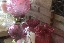 GWTW  lamps, FENTON glass and more... / GWTW ( gone with the wind) lamps,  Fenton, Art glass &more... / by Maria Hurcomb