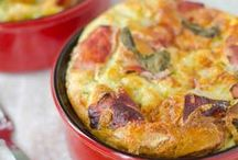 clafoutis courgettes