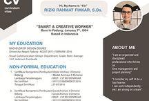 My CV | Curriculum Vitae 2017