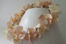 couronne mariée / courone de fleurs mariage trousselier