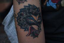 My tattoo work / Lavori che nascono dalla mia passione per il tatuaggio