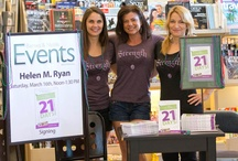 Awesome Book Signing / Book signing at Barnes & Noble for 21 Days to Change Your Body. Great people, great fun, lots of energy. Even the Spinning people came out in support. We wore matching Strength shirts, too.