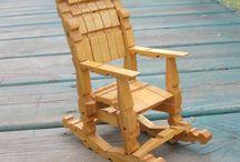 crea con le mollete in legno