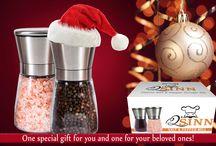 Amazing Gift / Q'sinn Salt and Pepper Grinder Set