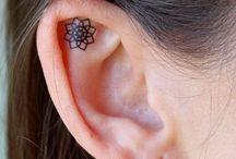Tatuajes en la oreja