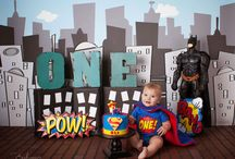 Maxi's 1st - Superhero party
