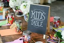 Kids Tables / Keep the children entertained during your big day