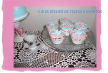 5 o´clock tea / Design table - umdiadefesta; Sweets - Bolos e Bolinhos Atelier