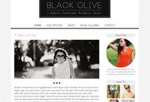 Beautiful Wordpress Themes / Collection of beautiful Wordpress themes, all featured on Luvly.co
