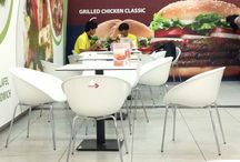 Burger King Otopeni / Mobilier Chairry @Burger King Otopeni