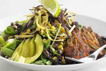 Earl's Chicken Santa Fe salad
