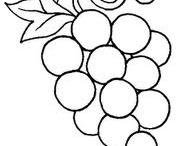 Kifestő - Gyümölcs, zöldség