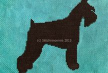 dog cross stitch