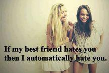 Best friends stuff