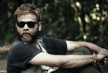 male model with beard / Beard style