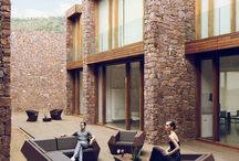 wood, stone&glass