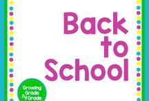 Back-to-School / Elementary and middle grades resources, lessons, projects, worksheets, and printables for Back-to-School season.