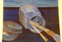 Painting Studio Assignments / by Dana Truckenbrod