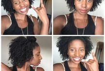 {natural hair}
