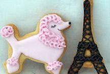 Biscoitos e cake pops