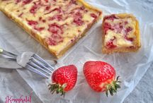 strawberry cake / epres sütik