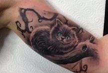 Tatuaggio paese delle meraviglie