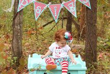 Photo ideas for claire's 1st bday