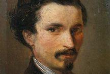 arte - Silvestro Lega (1826-1895) / arte - pittore italiano