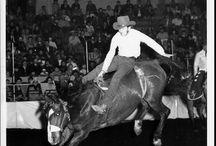 Ride em, Cowboy / http://empehi.blogspot.com/2013/03/tom-schildhouse-jan-66-rodeo-bucking.html