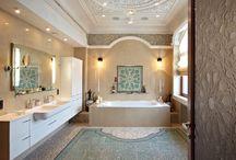 Ванная в стиле ар нуво