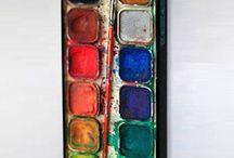"""Coque de portable """"palette de peinture"""""""