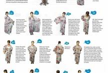 일본 옷만들기