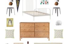 mood board for kids room