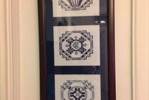 My cross stitch works / Everything I made with cross stitch