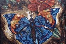 MOSAIC ART- Butterflies / by Cyndi Gilstrap McDonnough