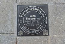 NewcastleGateshead Local Heroes  / Local Heroes is a Hollywood 'Walk of Fame' style trail around NewcastleGateshead's iconic Quayside. The trail honours individuals, either from or with strong links to the area that have made a significant contribution to NewcastleGateshead or the wider world over the past 60 years.