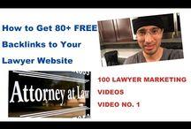 100 Lawyer Marketing Videos