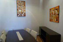 Obrazy v prostorech / Art Interiér Obrazy Umění