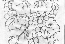 cachos de uva