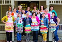 Array of Aprons / by Karen Sermersheim