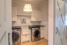 Basement Laundry Room and Storage Room
